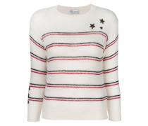 Pullover mit aufgestickten Sternen