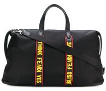 Reisetasche mit Slogans