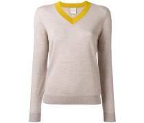 Pullover mit V-Ausschnitt - women - Wolle - S