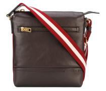 Trezzini messenger bag - men - Baumwolle/Leder
