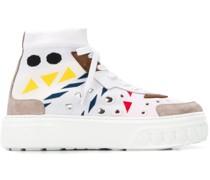 Sock-Sneakers mit Print
