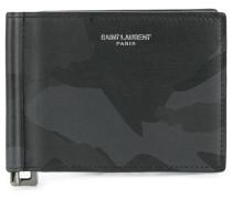 Portemonnaie mit Camouflage-Print - men - Leder