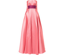 princess strapless gown