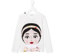 - Langarmshirt mit Mädchen-Print - kids