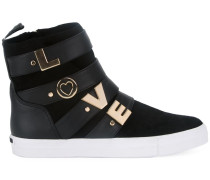 'Love' High-Top-Sneakers