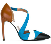 Pumps in Colour-Block-Optik