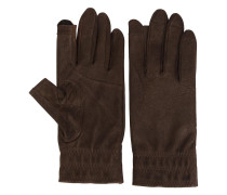 - Lederhandschuhe mit offenen Fingern - men