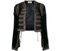 hand stitched embroidered jacket - women