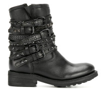 Tempt buckle strap boots