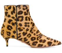 'Quant' Stiefel mit Leopardenmuster