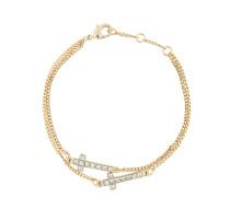embellished cross bracelet