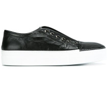 Slip-On-Sneakers mit erhöhter Sohle - women