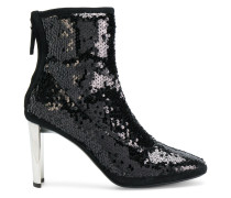 Luce sequinned booties