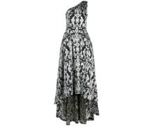 'Kolab' One-Shoulder-Jacquard-Robe