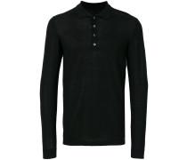 Pullover mit Knopfkragen