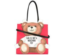 Shopper mit Teddybären-Patch