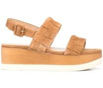 Wendi Flatform-Sandalen aus Wildleder