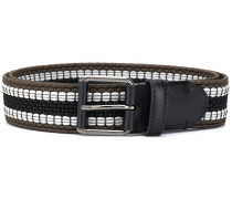 woven colour block belt