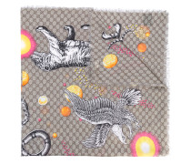 "Schal mit ""Space Animals""-Print"