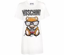 Teddy Bear intarsia T-shirt dress