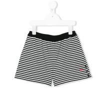 Shorts mit Querstreifen - kids - Baumwolle - 8