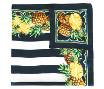 - Seidentuch mit Ananas-Print - women - Seide