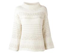 Pullover mit weitem Stehkragen - women
