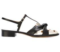 Sandalen mit Knotendetail - women