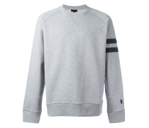 Sweatshirt mit gestreiftem Ärmel - men