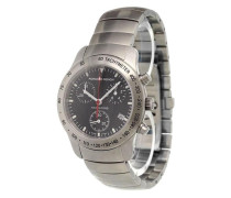 'P10 Chronograph Black' analog watch