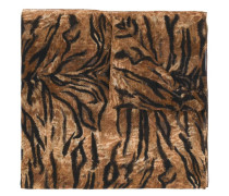 'Animalier' large printed scarf