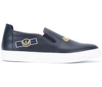 - Slip-On-Sneakers mit Stickerei - men