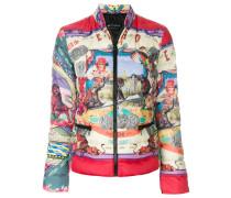 circus print padded jacket