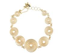 Soffio Gold Coils Anklet
