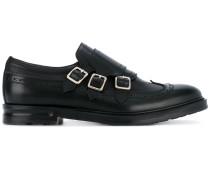 Monk-Schuhe mit Klettverschluss