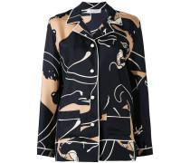 Seidenhemd mit Print - women - Seide - M