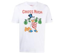 T-Shirt mit Dagobert-Duck-Print