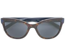 - Cat-Eye-Sonnenbrille mit Logo - women - Acetat