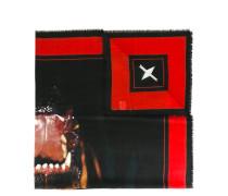 Schal mit Rottweiler-Print - women