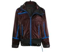 Oversized-Jacke mit Kontrastdetails