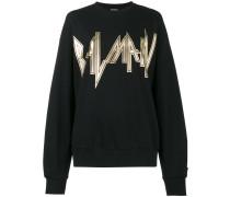 'Heavy Metal' Sweatshirt mit Logo