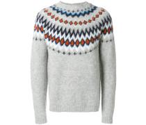 Fair Isle knitted sweater