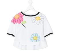 T-Shirt mit Blumenmotiven - kids