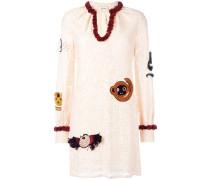 - Kleid mit Spitze - women - Polyamid/Viskose - 42