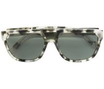 Rechteckige Sonnenbrille - unisex - Acetat