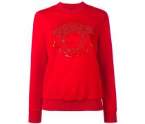 - Sweatshirt mit Medusa-Stickerei - women