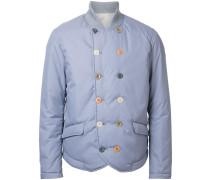 Wattierte Jacke mit doppelreihigem Design