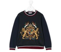 Pullover mit WappenPrint