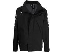 x Nemen graphic-print racing jacket