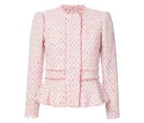 - Tweed-Jacke mit Schößchen - women